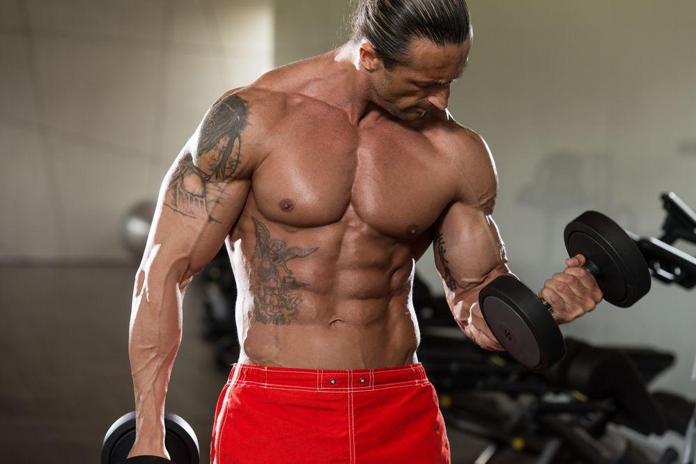 Brustmuskeln trainieren zu Hause